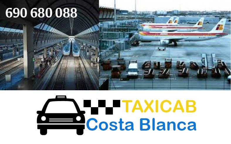 taxicabcostablanca AVE y Aeropuerto